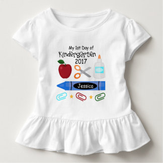 1st Day of Kindergarten Tee T-shirt