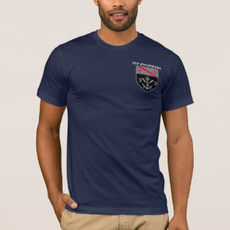1st Engineer Battlion -1st Infantry Division T-Shirt