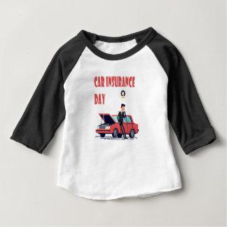 1st February - Car Insurance Day Baby T-Shirt