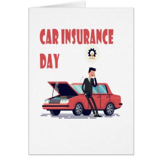 1st February - Car Insurance Day Card