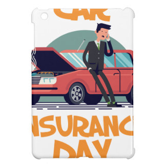 1st February - Car Insurance Day iPad Mini Cover