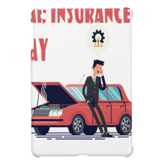 1st February - Car Insurance Day iPad Mini Covers