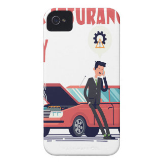 1st February - Car Insurance Day iPhone 4 Case-Mate Case