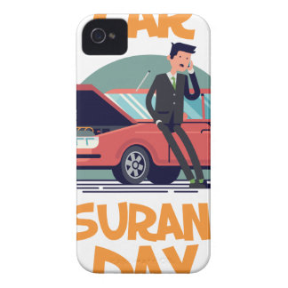 1st February - Car Insurance Day iPhone 4 Cases