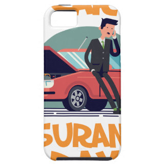 1st February - Car Insurance Day iPhone 5 Case
