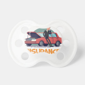 1st February - Car Insurance Day Pacifier