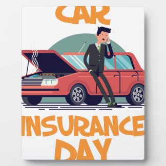 1st February - Car Insurance Day Plaque