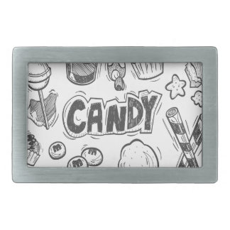 1st February - Decorating With Candy Day Belt Buckle