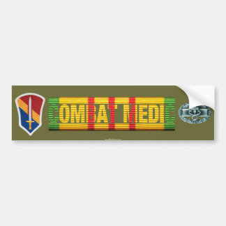 1st Field Force Vietnam COMBAT MEDIC Sticker