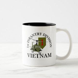 1st ID Vietnam Two-Tone Coffee Mug