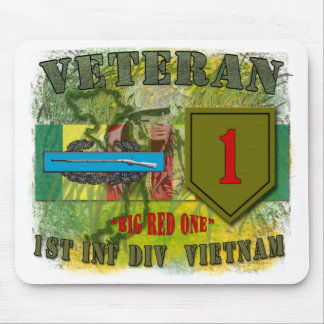 1st Inf Div-Vietnam Mouse Pad