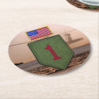 1st infantry big red 1 veterans vets coasters