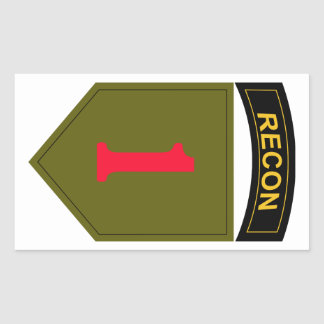 1st Infantry Division Recon Sticker