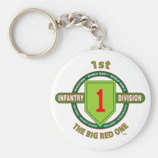 1ST INFANTRY DIVISION THE BIG RED ONE KEY CHAINS