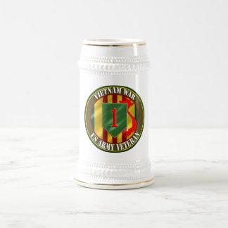 1st Infantry Division Vietnam Beer Stein