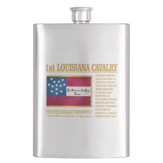 1st Louisiana Cavalry (BA2) Hip Flask