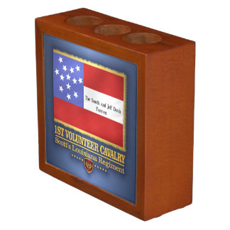 1st Louisiana Cavalry Desk Organizer