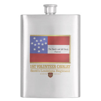 1st Louisiana Cavalry Hip Flask