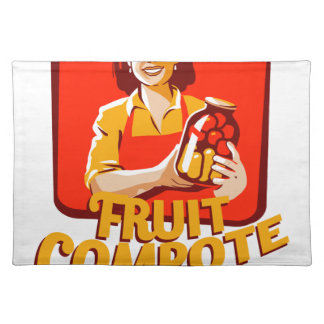 1st March - Fruit Compote Day - Appreciation Day Placemat