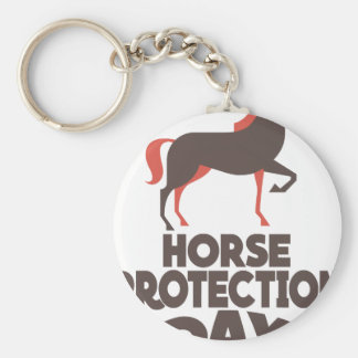 1st March - Horse Protection Day Keychain