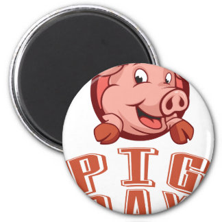 1st March - Pig Day 2 Inch Round Magnet