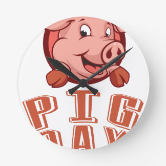 1st March - Pig Day Clock