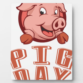 1st March - Pig Day Plaque