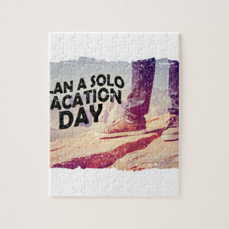 1st March - Plan A Solo Vacation Day Jigsaw Puzzle