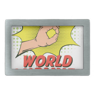 1st March - World Compliment Day Belt Buckles