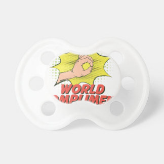 1st March - World Compliment Day Pacifier
