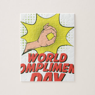 1st March - World Compliment Day Puzzle
