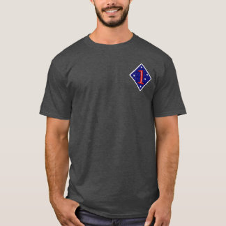 1st Marine Division Engagements Tee