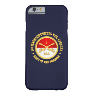 1st Massachusetts Volunteer Cavalry Barely There iPhone 6 Case