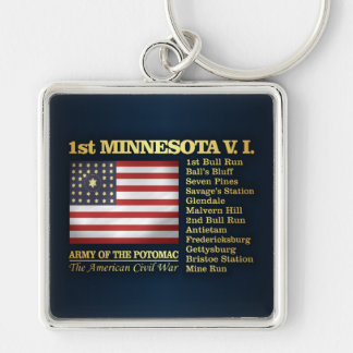 1st Minnesota Volunteer Infantry (BH) Keychain