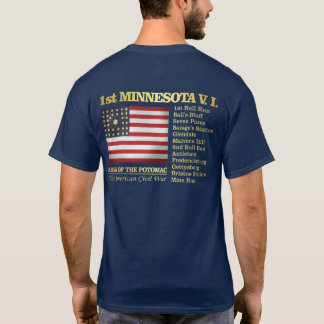 1st Minnesota Volunteer Infantry (BH) T-Shirt