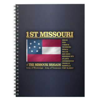 1st Missouri Infantry (BA2) Notebooks