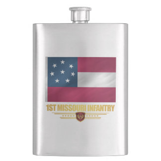 1st Missouri Infantry Flasks