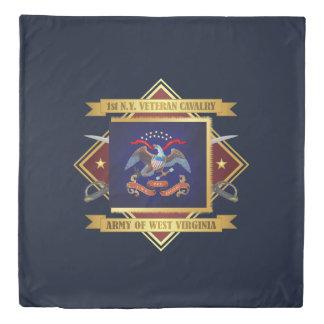 1st New York Veteran Cavalry Duvet Cover