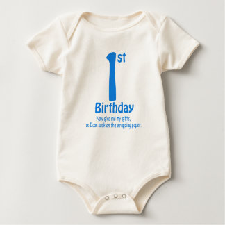 1st Now Give My Gifts Baby Bodysuit