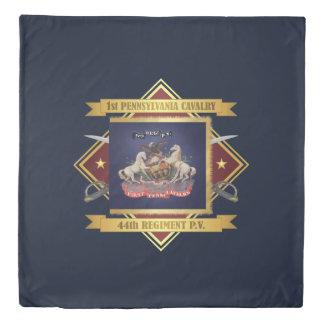 1st Pennsylvania Cavalry Duvet Cover