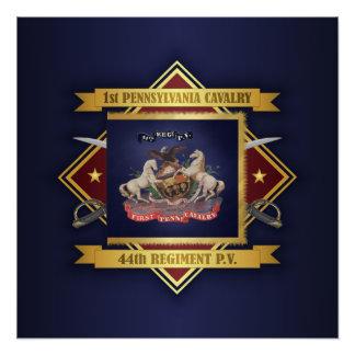 1st Pennsylvania Cavalry Poster