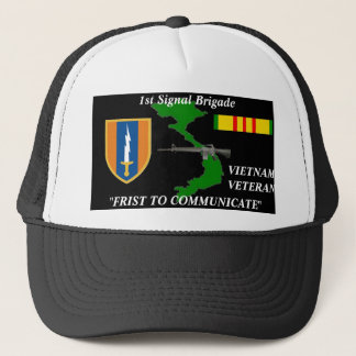 "1st Signal Brigade""1st to Communicate"" Ball Caps"