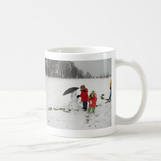 1ST SNOWMAN, PROUD TO SAY:MERRY CHRISTMAS!HAPPY... COFFEE MUG