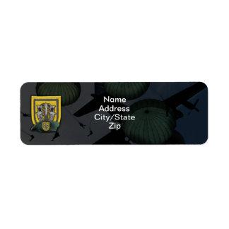 1st special forces fort lewis vets r return address label