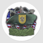 1st Special forces group Green Berets vets Sticker