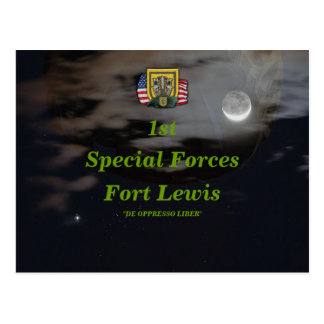 1st special forces group son green berets Postcard