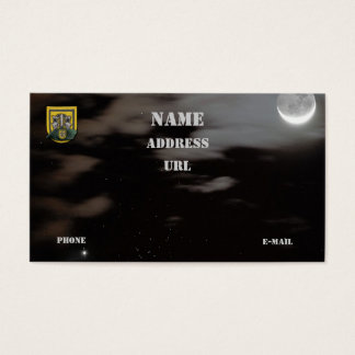 1st special forces group vets flash business Card
