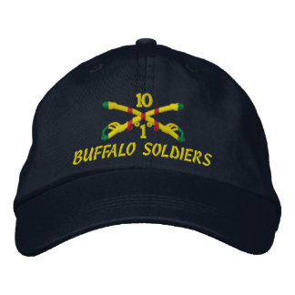 1st Sqdn 10th Cavalry Embroidered Hat