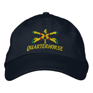 1st Sqdn., 4th Cavalry Embroidered Hat