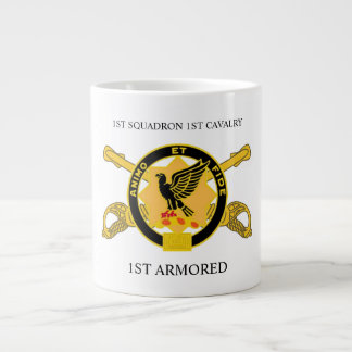 1ST SQUADRON 1ST CAVALRY 1ST ARMORED MUG
